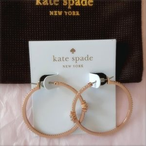 Kate Spade New York Clink of Ice Gold Earrings
